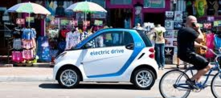 Zipcar Launches All-Electric Car-Share Scheme