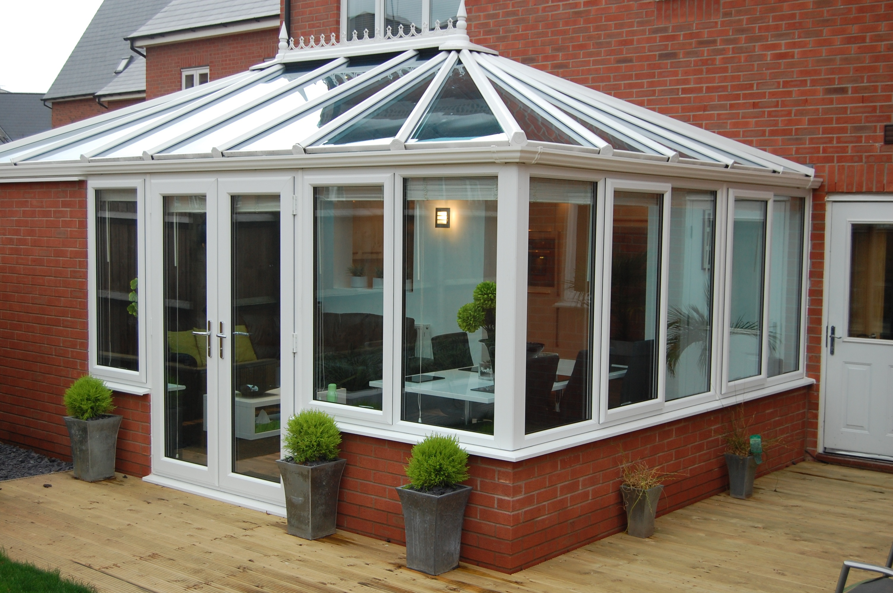 making the conservatory an all year room unite for climate