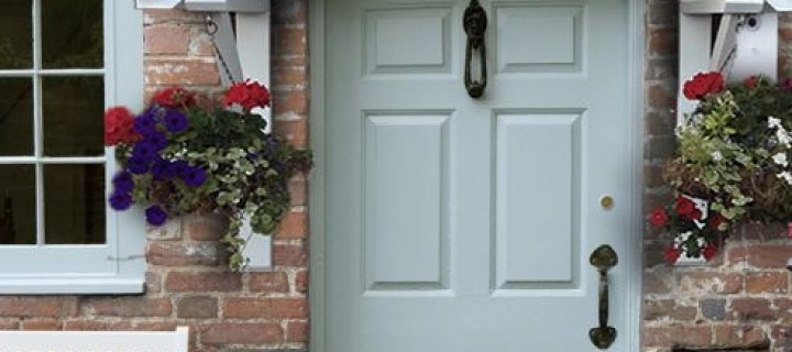 How To Easily Revamp The Plain Front Door Of Your Home