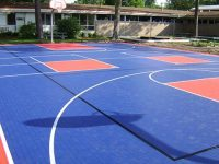 Basketball floor that guarantee good results