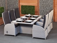 Redoing the dining room? Consider a wicker dining set