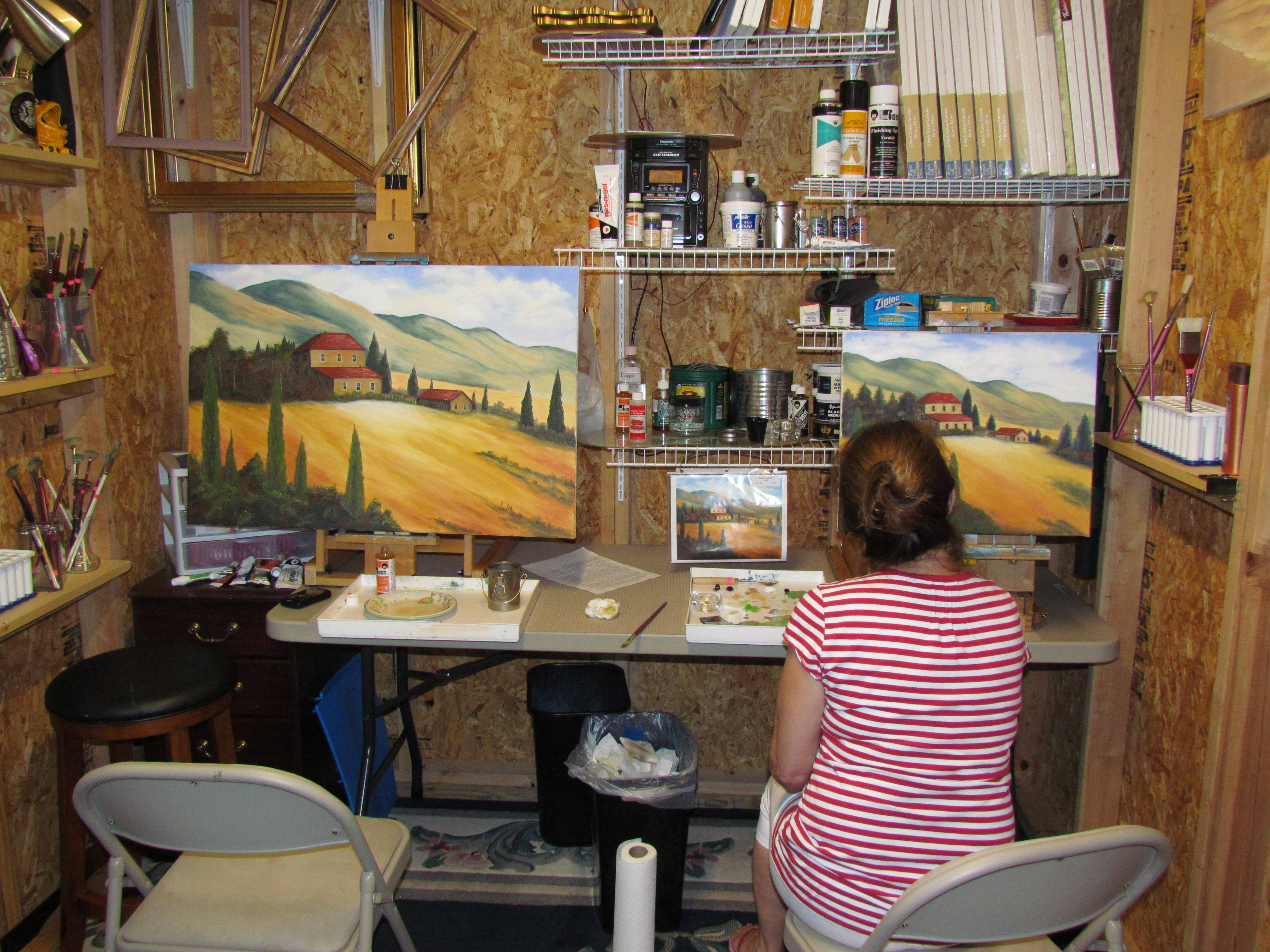 Organize Your Art Studio In The Best Possible Way Some