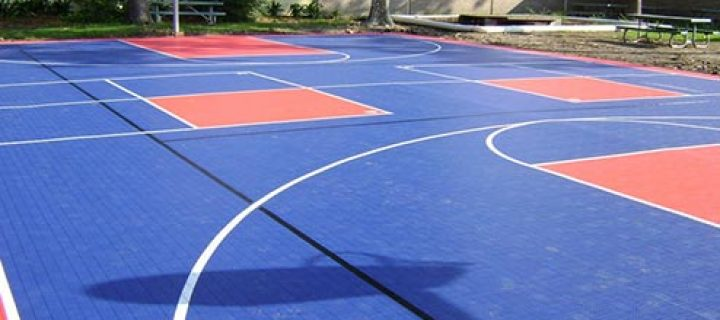 Basketball floor that guarantee good results